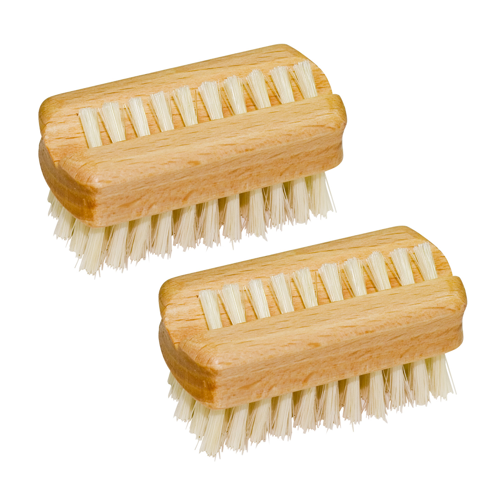 Travel Nail Brush Beech