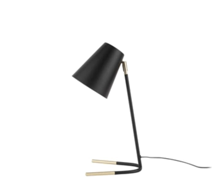 Noble Lamp - Black/Gold