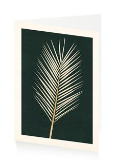 Card Palm Leaf