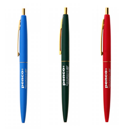 Penco Click Ballpoint Pen - Assorted