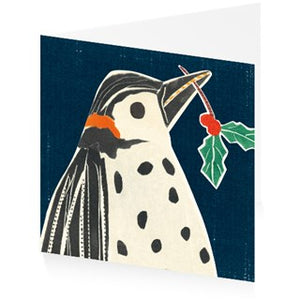 Christmas Cards Penguin Pack of 5