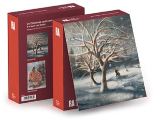 Christmas Cards RA Box Cherry Tree Pack of 24