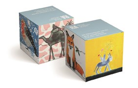 Christmas Cards Donkey Box of 20 Minis