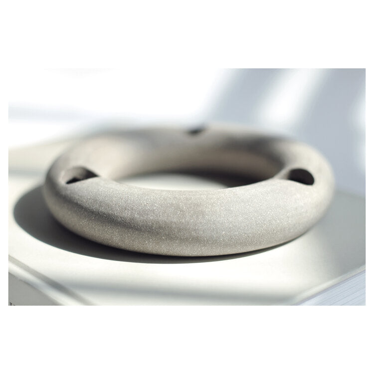 Textured Torus Ring Candle Holder