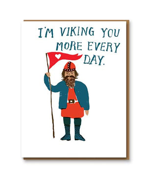 Card Im Viking You More