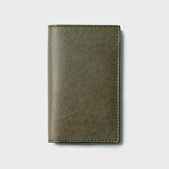 Campbell Cole Simple Slim Card Wallet Khaki