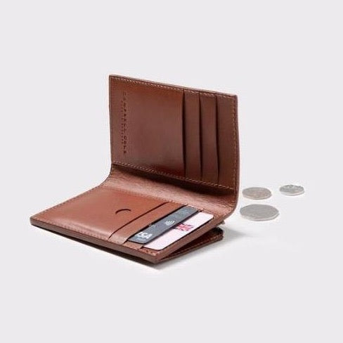 Campbell Cole Simple Slim Wallet Tan