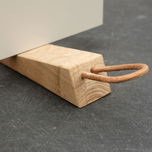 Zak Oak Door Stop
