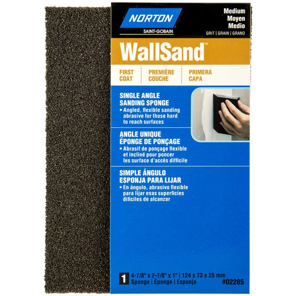 SINGLE ANGLE SANDING SPONGE 5*3*1 (MEDIUM GRIT)