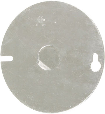 4'' ROUND COVER WITH REMOVABLE HOLE