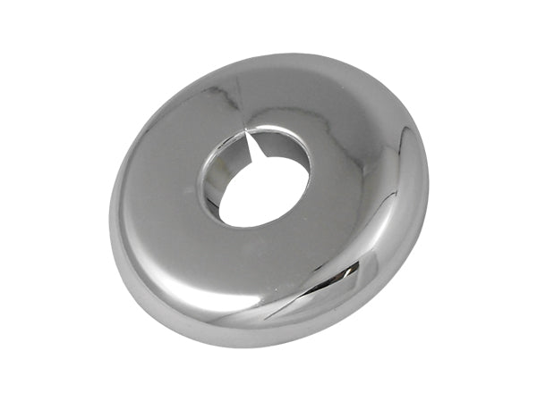 1-1/2'' CHROME PLASTIC SPLIT WALL PLATE