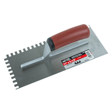 TROWEL - SQUARE NOTCHED 11'' * 4-1/2'' * 1/4''
