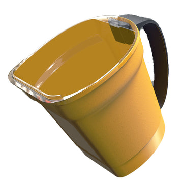 PAINT PAIL WITH HANDLE & MAGNET