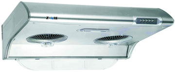 "30"" UNDER CABINT RANGE HOOD WITH LIGHT IN STAINLESS STEEL"