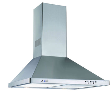30'' 720CFM WALL-MOUNT CHIMNEY RANGE HOOD IN STAINLESS STEEL WITH PUSH BUTTON CONTROLS
