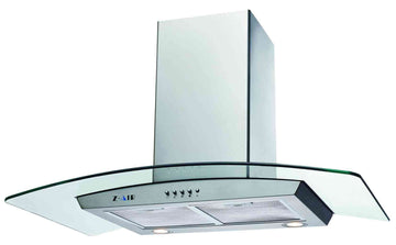 30'' 720CFM DUCTED WALL MOUNT RANGE HOOD IN STAINLESS STEEL WITH PUSH BUTTON CONTROLS