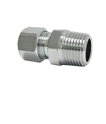 3/8'' OD * 3/8 ''MIP STRAIGHT FITTING