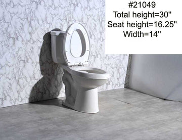 #21049 TOILET (TWO-PIECE)