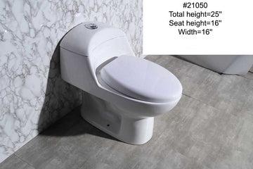 #21050 TOILET (ONE-PIECE)