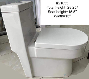 #21055 TOILET (ONE-PIECE)