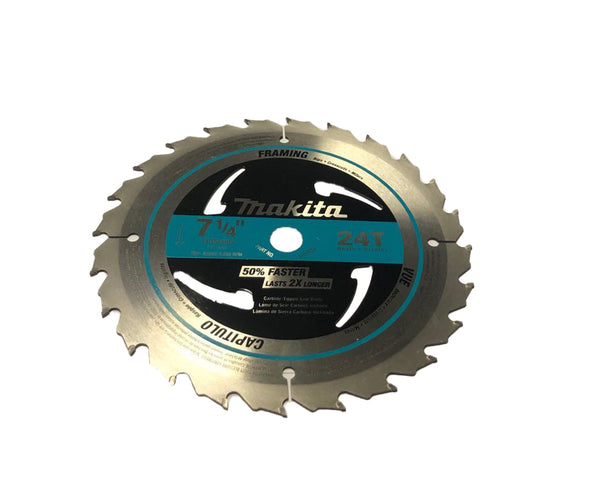 "7‑1/4"" 24T CARBIDE‑TIPPED CIRCULAR SAW BLADE"