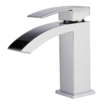 BATH FAUCET #22705 (SATIN NICKEL) CZ319001