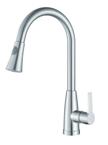 KITCHEN FAUCET #22717(SATIN NICKEL) CZ804102