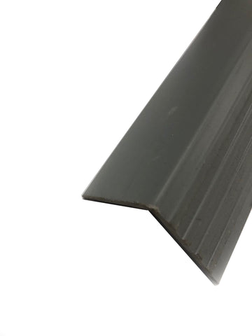 RUBBER STAIR NOSING GREY 2'' * 2'' * 12'