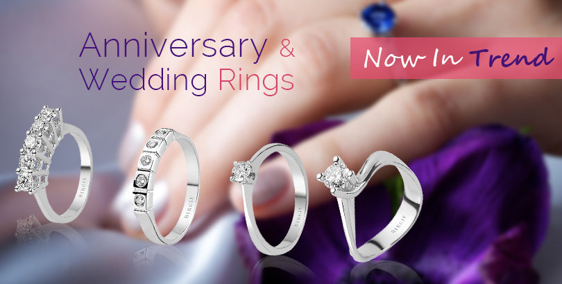 Top Four Trends in Anniversary Rings and Wedding Rings