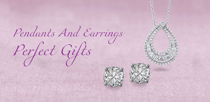 Beautiful Reasons That Make Diamond Pendants and Earrings Perfect Gifts