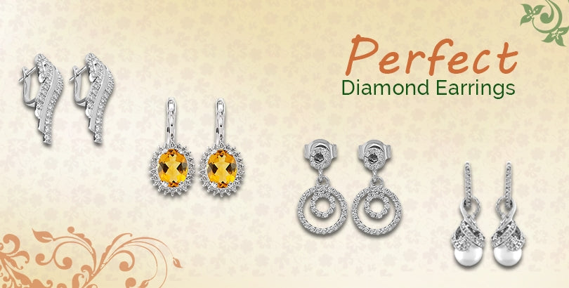 Some Inspiration for Ladies Searching for Perfect Diamond Earrings
