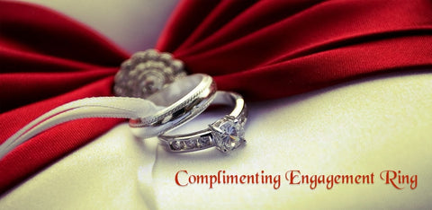 complementary engagement ring