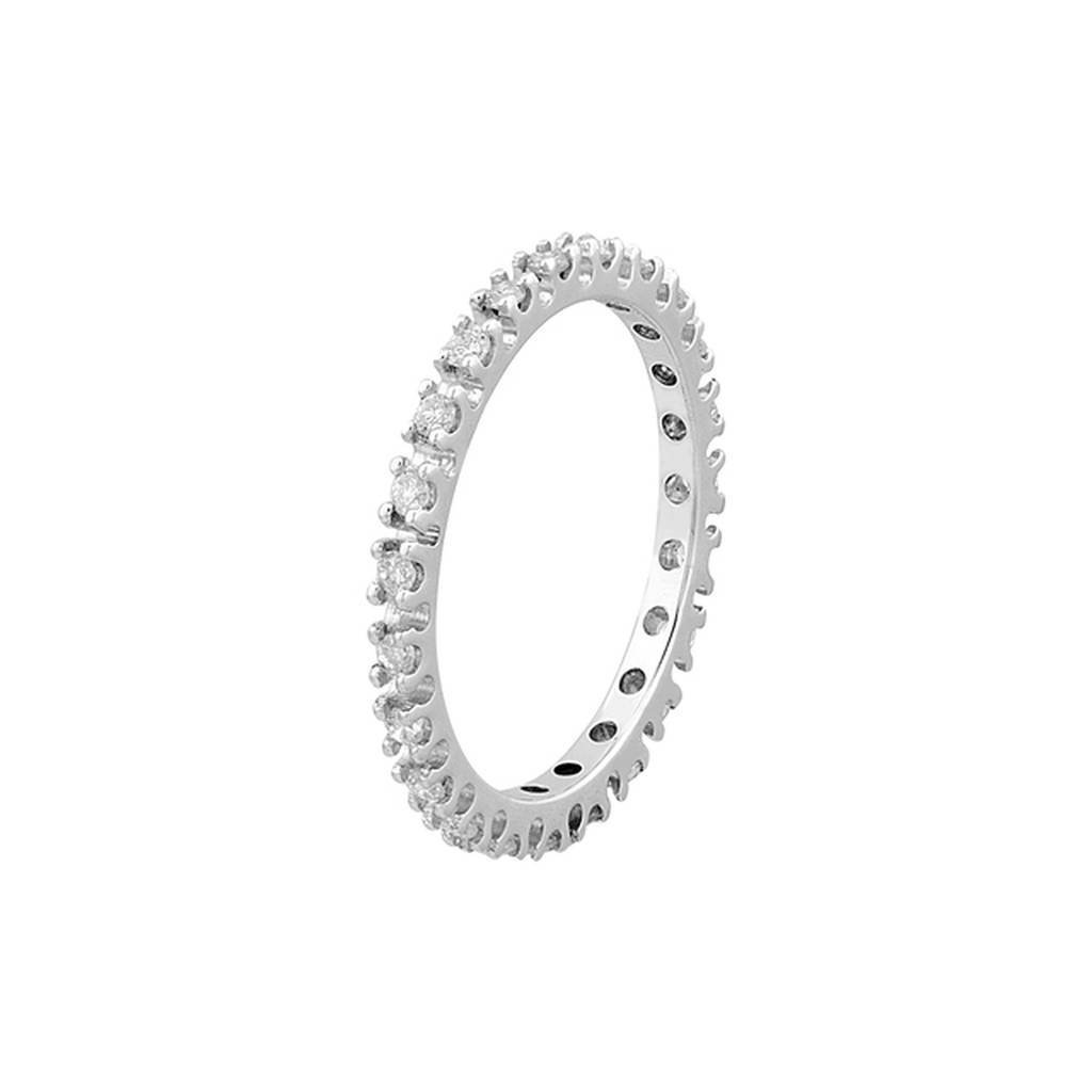 0.38 Carat Diamond Eternity Wedding Ring