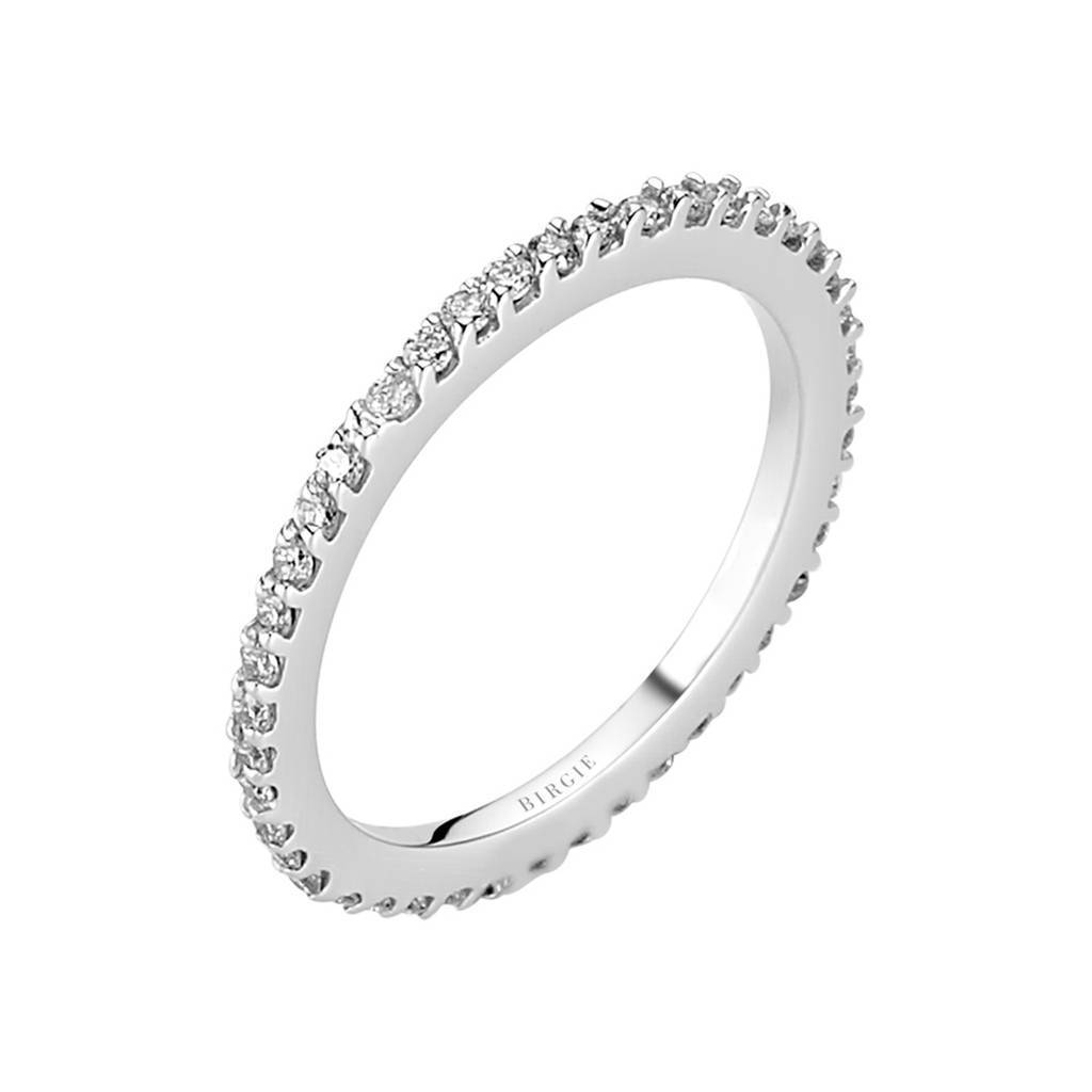 0.35 Carat Diamond Slim Eternity Wedding Ring