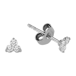 Trilogy Diamond Earrings