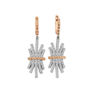 Diamond zca Drop Earrings