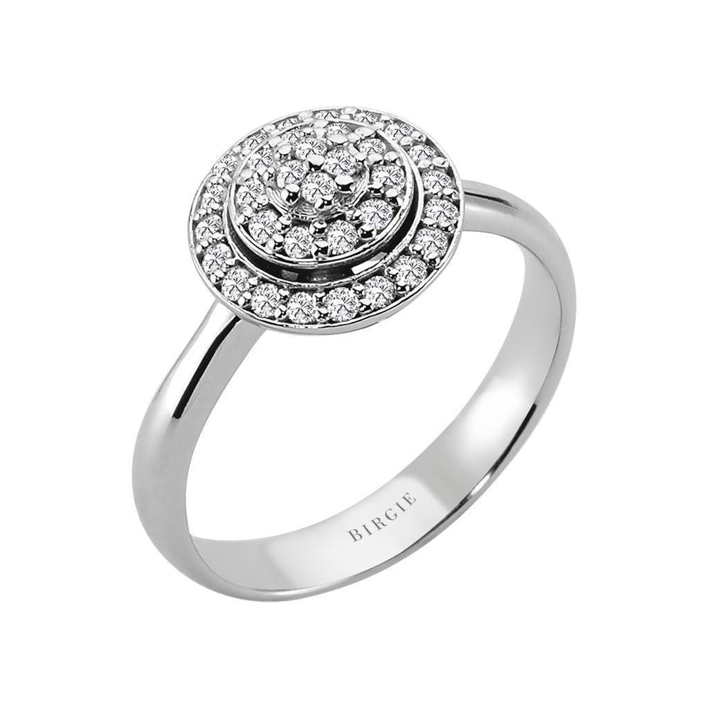 Diamond Channel Design Fashionable Ring