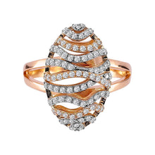 Load image into Gallery viewer, Diamond Silk Cocoon Design Ring