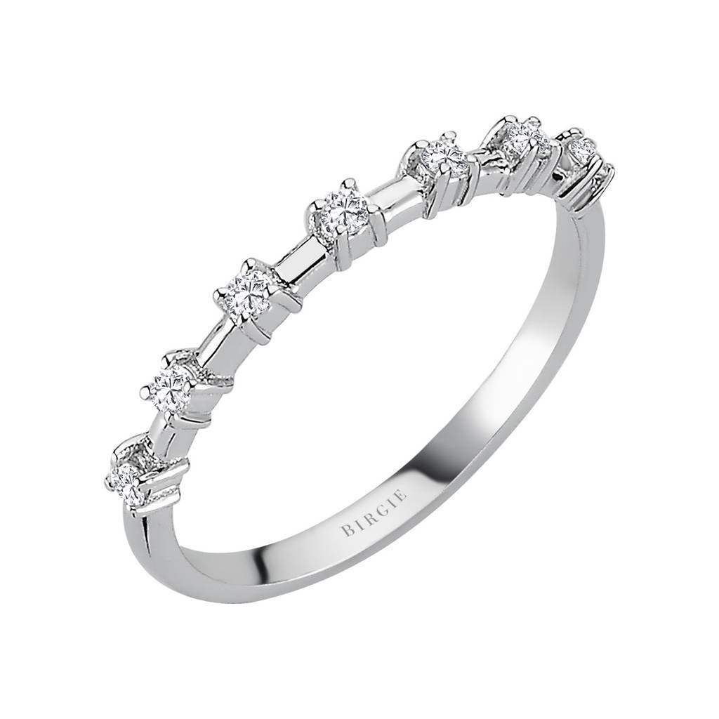 Diamond Half Band Eternity Ring