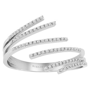 Six Branches of Diamonds Ring