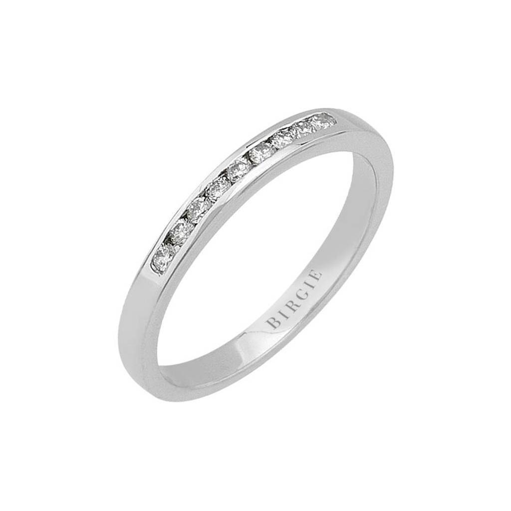 0.15 Carat Diamond 9 Stone Wedding Ring
