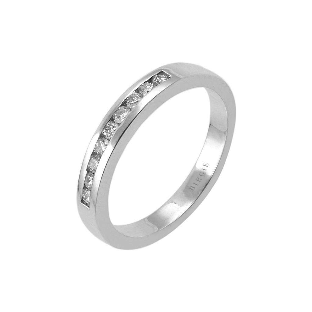 0.23 Carat Diamond 9 Stone Wedding Ring