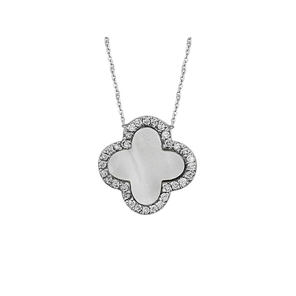Diamond Stone creous Necklace