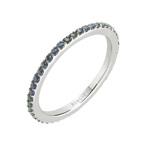 Sapphire Stone Eternity Wedding Ring