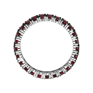 Full Band Ruby Eternity Ring