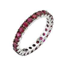 Load image into Gallery viewer, Full Band Ruby Eternity Ring