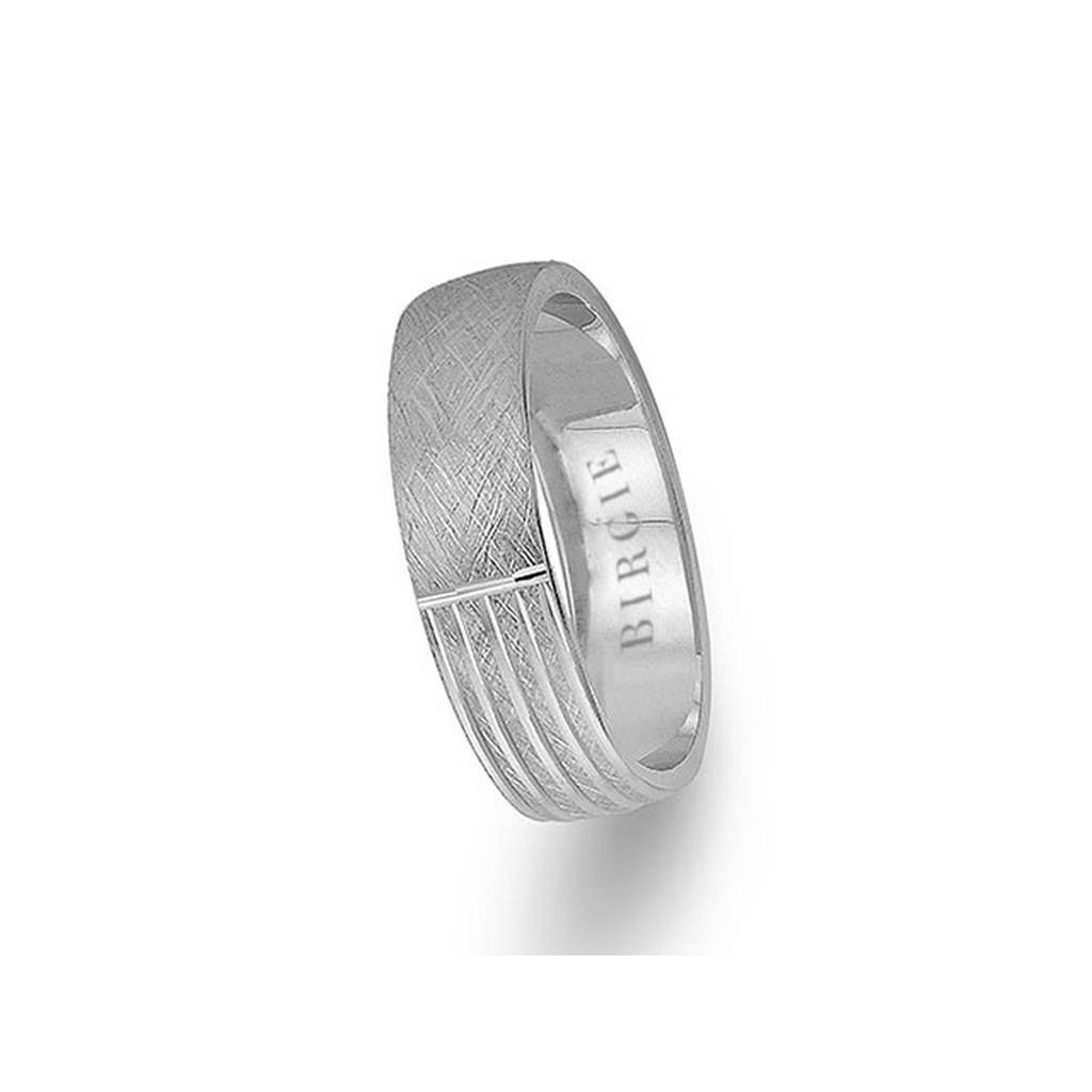 White Gold Angkor Wedding Band