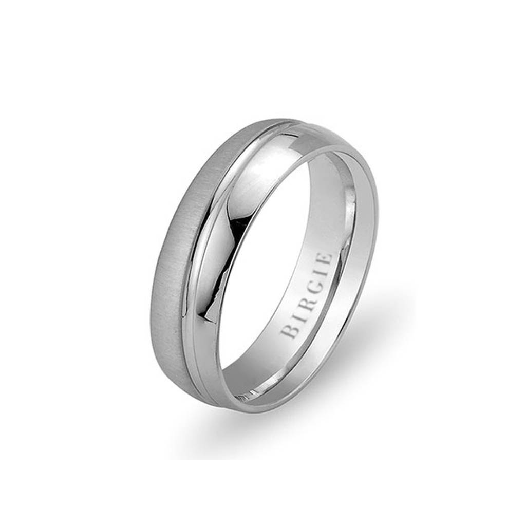 White Gold Florence Wedding Band