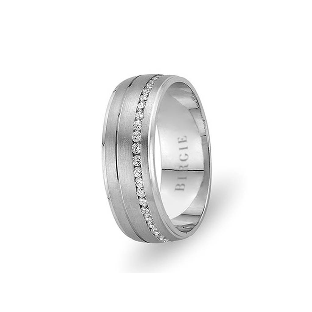 White Gold Topkapi Wedding Band w/ Diamonds