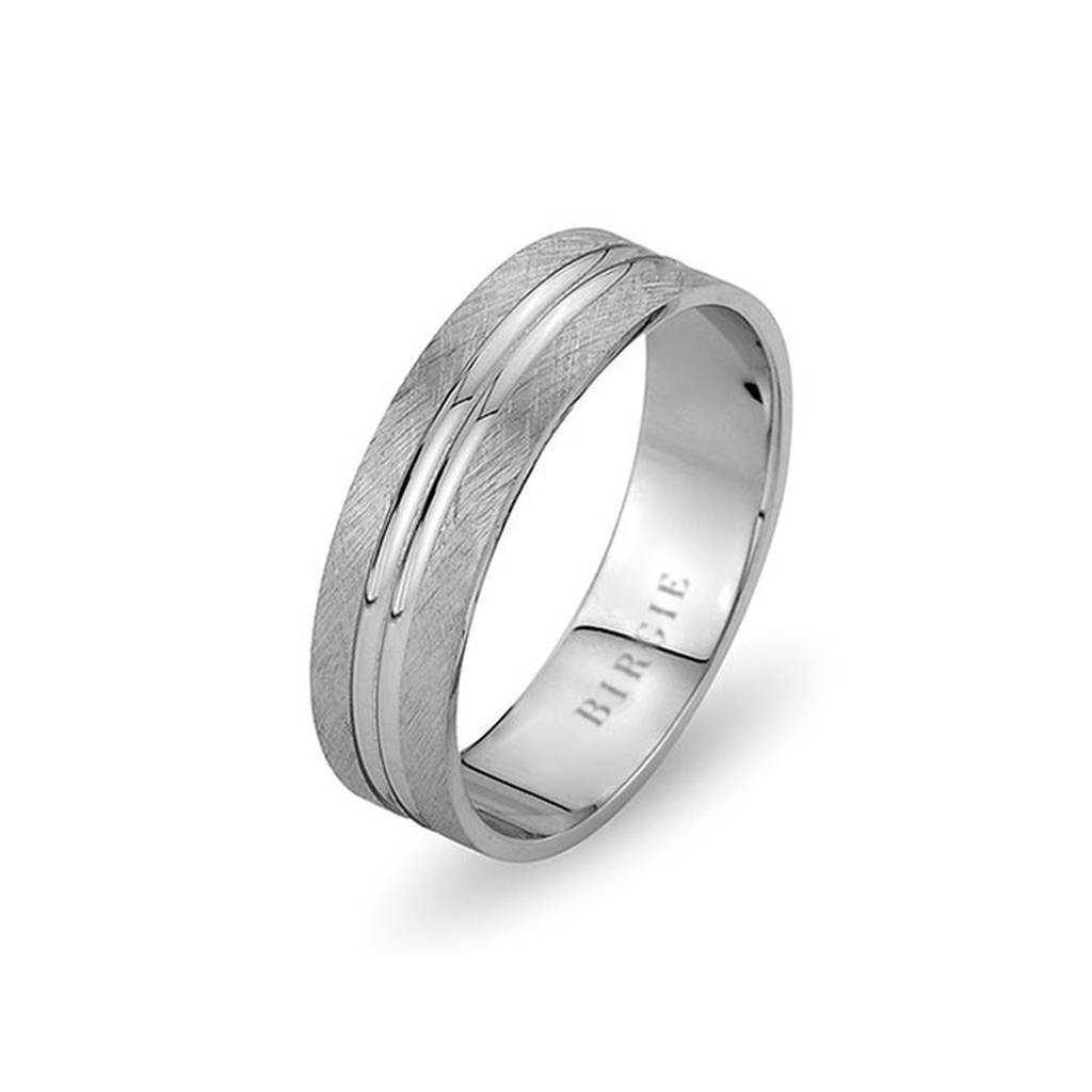 White Gold Mahidevran Wedding Band